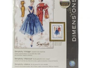 Simplicity Vintage Cross Stitch Kit by Dimensions 70-35369