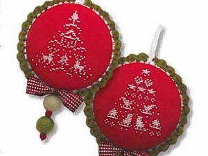 Christmas Tree Collection IX Cross Stitch Pattern by JBW Designs 18-2091