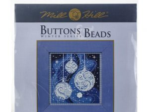 Ornament Elegance Buttons & Beads Winter Series Mill Hill Kit MH14-1835