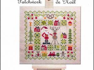 Patchwork de Noel Cross Stitch Pattern by Jardin Prive H5700