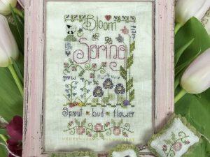 Spring Notes Pattern by Shepherds Bush