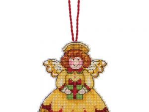 Angel Ornament by Susan Winglet Dimensions Cross Stitch Kit