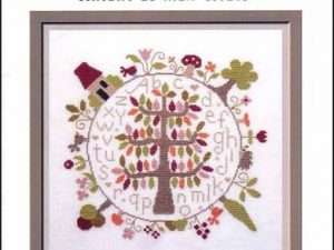 Autour De Mon Arbre Cross Stitch Pattern by Jardin Prive E6927