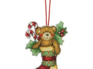 Bear Ornament by Susan Winglet Dimensions Cross Stitch Kit 70-08894