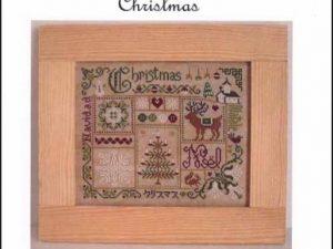 Christmas Cross Stitch Pattern by Jardin Prive H5766