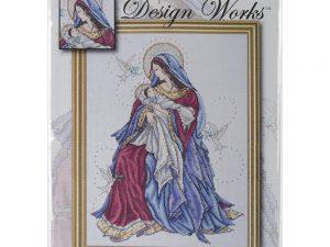 Madonna and Child Cross Stitch Kit by Design Works DW2765