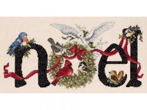 Noel Cross Stitch Kit by Janlynn 80-0481