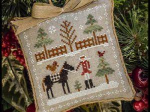 Farmhouse Christmas Part 2 Horsin' Around Pattern from Little House Needleworks