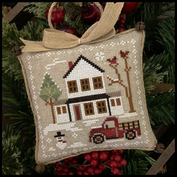 Farmhouse Christmas Part 3 Grandpa's Pick-up Pattern from Little House Needleworks