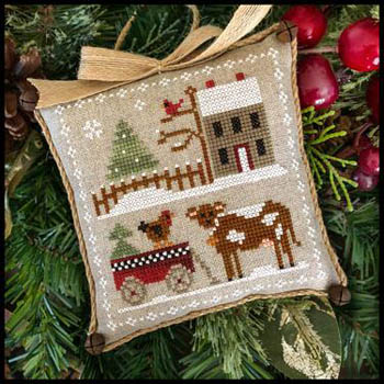 Farmhouse Christmas Part 4 Dairy Darlin Pattern from Little House Needleworks