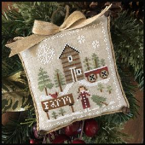 Farmhouse Christmas Part 6 Pinewood Farm Pattern from Little House Needleworks