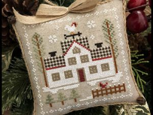 Farmhouse Christmas Part 7 Cock-a-doodle-do Pattern from Little House Needleworks