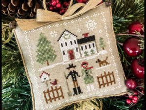 Farmhouse Christmas Part 8 Farm Folk Pattern from Little House Needleworks