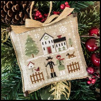 Farmhouse Christmas Part 8 Farm Folk Pattern from Little House Needleworks