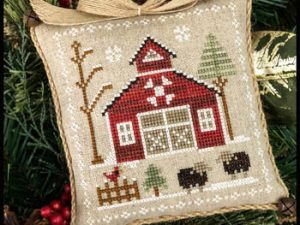 Farmhouse Christmas Part 9 Baa Baa Black Sheep Pattern from Little House Needleworks