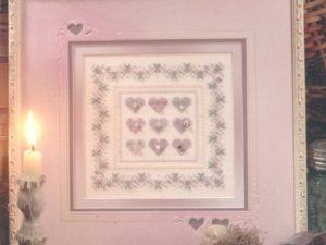 Charmed Hearts Kit from Shepherds Bush