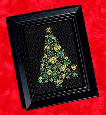 Christmas Tree by Bobbie G Designs Includes Rhinestones
