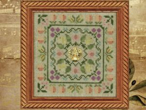 Colonial Fruits & Flowers kit by Elizabeth's Needlework Designs
