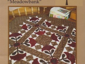 Meadowbank Pattern and Fabrics from Quilted Crow Girls