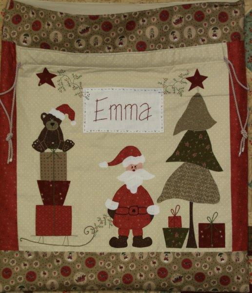 Santa Sack Pattern and Kit from Fig n Berry Creations