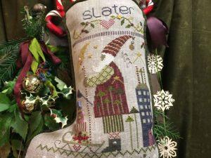 Slater Christmas Stocking Pattern