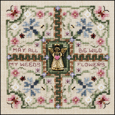 Wildflower Wishes Pattern and Charm from Just Nan JN089