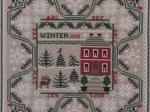 Winter in the Forest Pattern and Charm from Just Nan JN0268