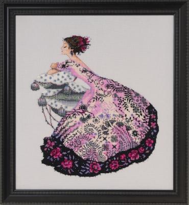 Zelda Cross Stitch Pattern by Nora Corbett from Mirabilia Designs MD161