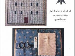 Home Needlebook Cross Stitch Pattern by La-D-Da