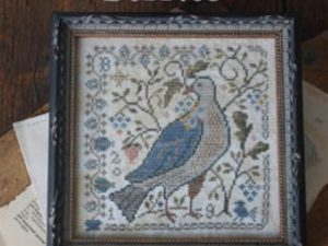 The Last Ripe Berries Cross Stitch Pattern Loose Feathers Series #9 from Blackbird Designs