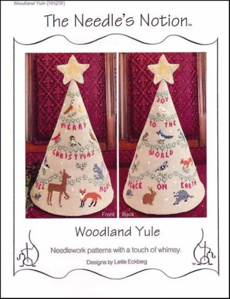 Woodland Yule Cross Stitch Pattern from The Needle's Notion