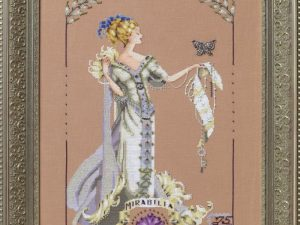 Lady Mirabilia Cross Stitch Pattern MD158