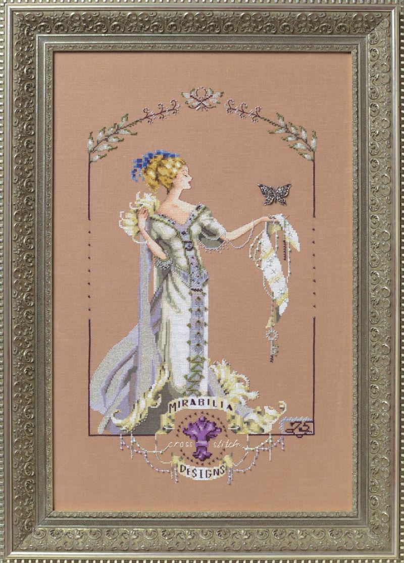 Lady Mirabilia Cross Stitch Pattern MD158