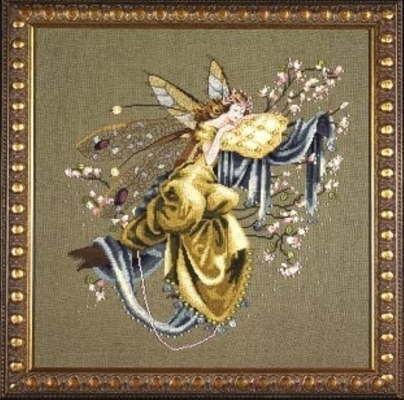 Lilly of the Wood -Dreaming Fairy Cross Stitch Pattern from Mirabilia MD80