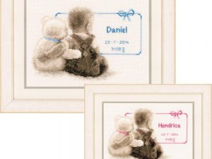 My Favourite Teddy Cross Stitch Kit by Vervaco V0021672