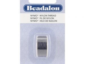 Beadalon Black Nymo Thread on a Bobbin