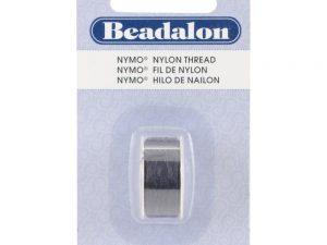 Beadalon Black Nymo Thread on a Bobbin