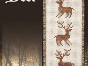 Deer Bookmark by Stoney Creek Cross Stitch pattern BKM 525