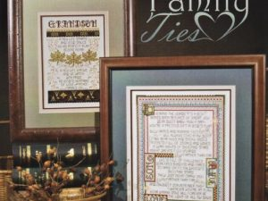 Family Ties Cross Stitch Pattern Book by Stoney Creek Book 432