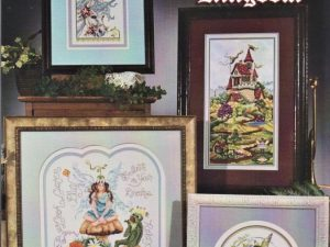Mythical Kingdom Cross Stitch Pattern by Stoney Creek Book 454