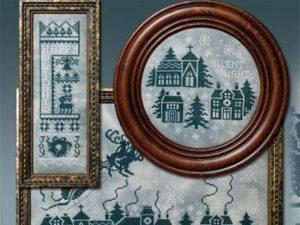 Christmas Silhouettes Cross Stitch Pattern by Stoney Creek Book 474