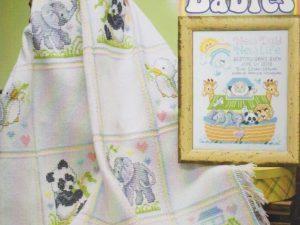 Noah's Babies Cross Stitch Pattern by Stoney Creek Book 519