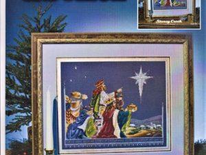 Three Wise Men Cross Stitch Pattern by Stoney Creek Leaflet 116