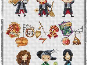 Harry Potter 1 Cross Stitch Pattern by Les Petites Croix de Lucie