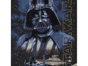 Darth Vader Cross Stitch Kit by Dimensions 70-35381