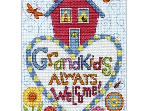 Grandkids Cross Stitch Kit by Dimensions 70-65188