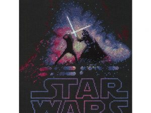 Luke and Darth Vader Cross Stitch Kit by Dimensions 70-35382