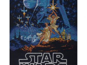 Luke and Leia Cross Stitch Kit by Dimensions 70-35380