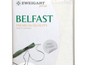 32ct Belfast Linen Antique White 48 x 68 cm Pack by Zweigart Z3609/101