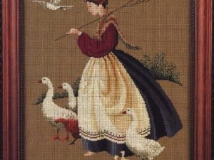 Feathers and Friends Cross Stitch Pattern from Butternut Road Br 01